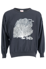 myrtle beach sweater with tree graphic