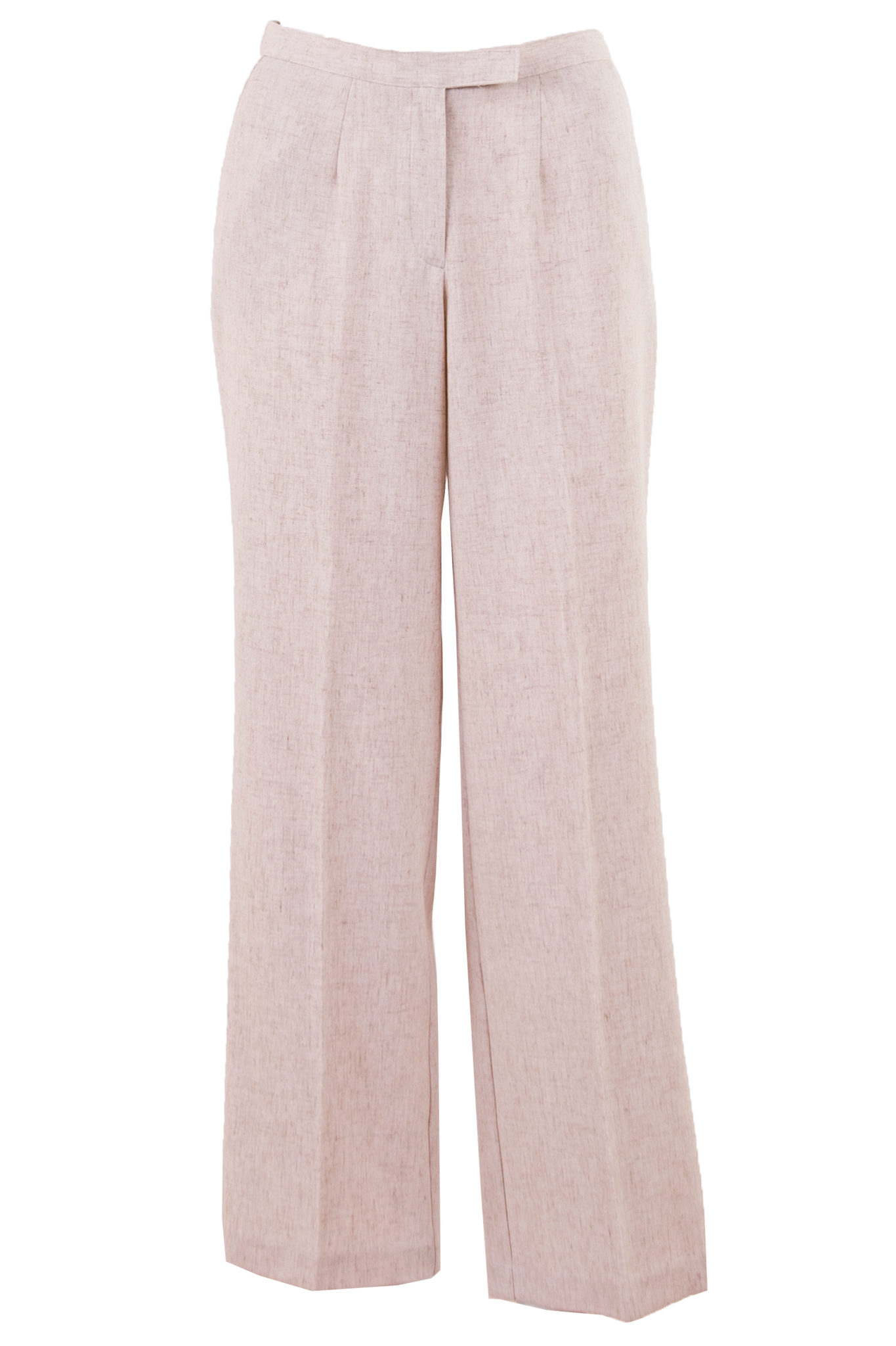 vintage off-white slacks with flat front