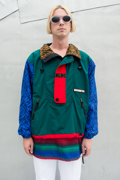 vintage obermeyer jacket in multicolor