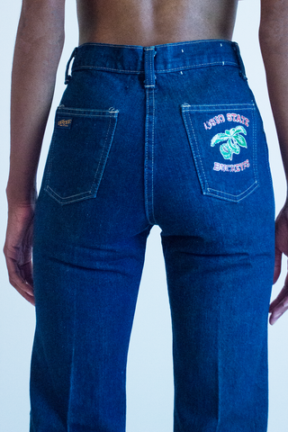 vintage Ohio State Buckeyes Jean in dark blue