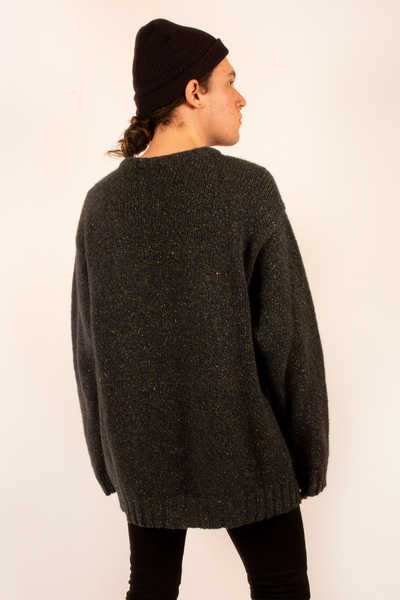 vintage oversized wool sweater