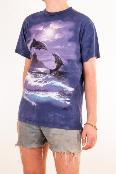 purple dolphin t-shirt