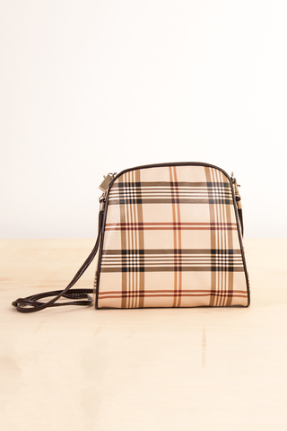 PVC Plaid Purse