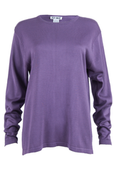 Purple vintage silk sweater