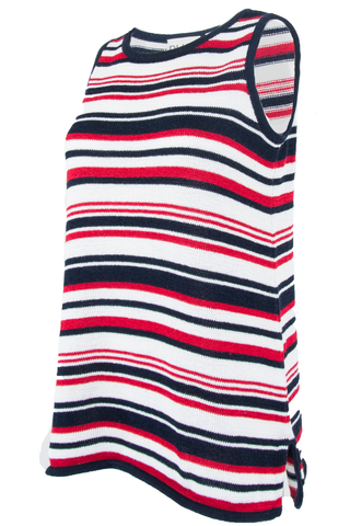 american striped tank top
