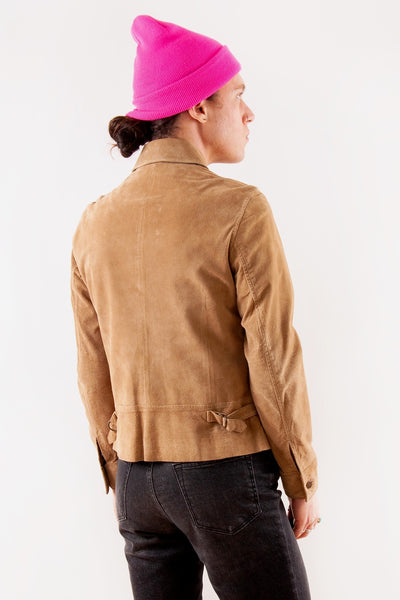 Trucker Jacket in Suede
