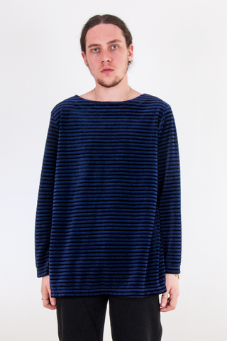 Velvet Striped Tunic