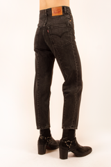 unisex vestments jeans in black