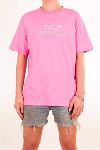 Vintage pink Palm Springs t-shirt