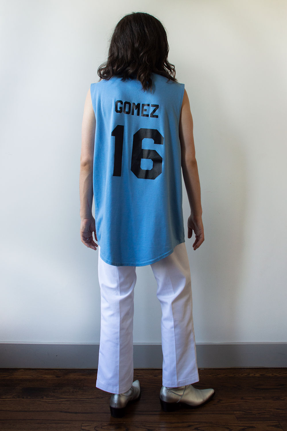Selena Gomez jersey in blue
