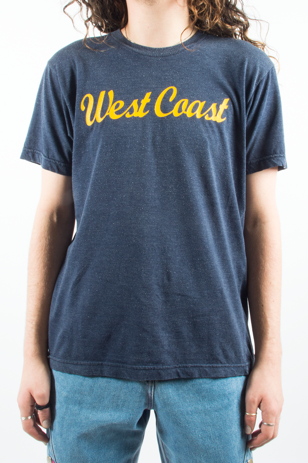 west coast t-shirt in navy blue