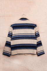 vintage striped woolrich jacket