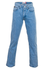 vintage blue wrangler jeans with straight leg