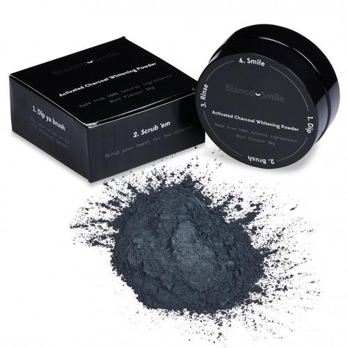 Activated Charcoal Teeth Whitener Powder