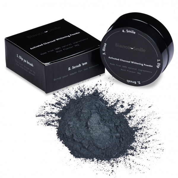 Activated Charcoal Teeth Whitener Powder - Bianco Smile