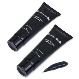 Activated Charcoal Toothpaste 80grams (Twin Pack - 2 Tubes)
