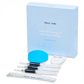 Teeth Whitening Kit with Charcoal Gel