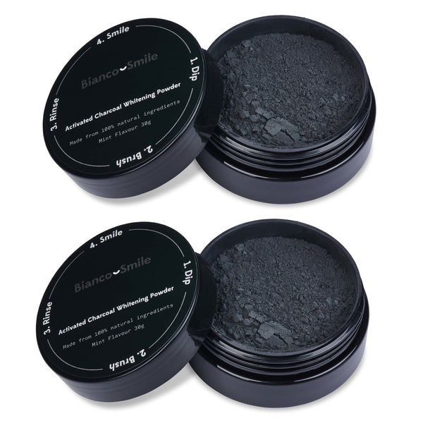 Activated Charcoal Powder Twin Pack