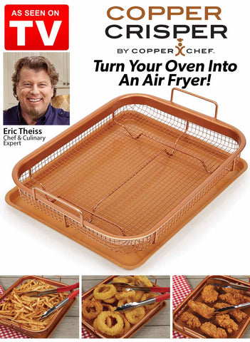 Copper Cristper, turn your oven into an air fryer