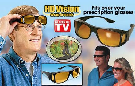 e4fdc98d82 HD Vision Wraparounds let you see with enhanced color and clarity just like high  definition TV s and at the fraction of a price of designer glasses.