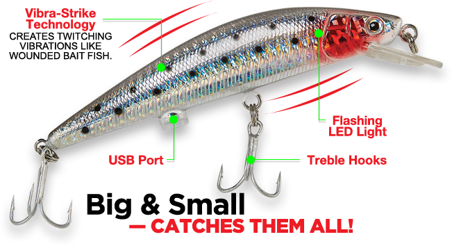 twitching lure – as seen on tv hot 10, Reel Combo