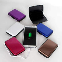 RFID Aluminum Atomic Charging Wallets