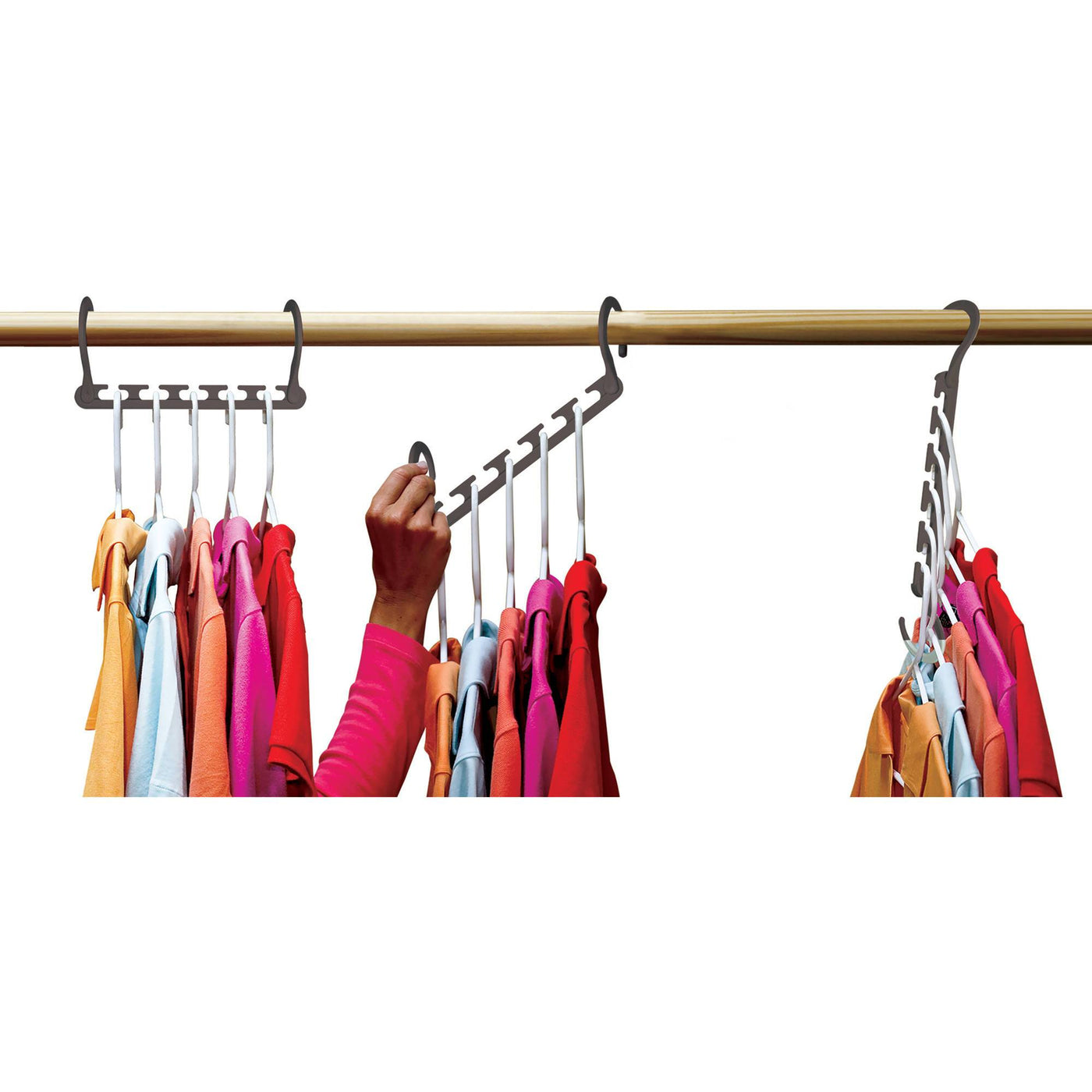Wonder Hanger Max 10pc Closet Organizer As Seen On Tv Hot 10