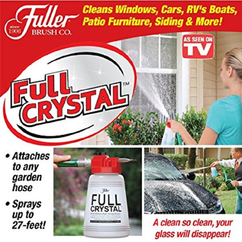 Fuller Brush Full Crystal Window And Outdoor Surface Cleaner As