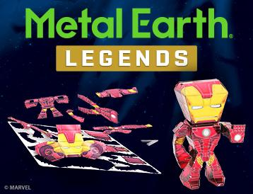 Metal Earth Legends