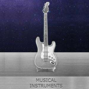 Metal Earth Musical Instruments