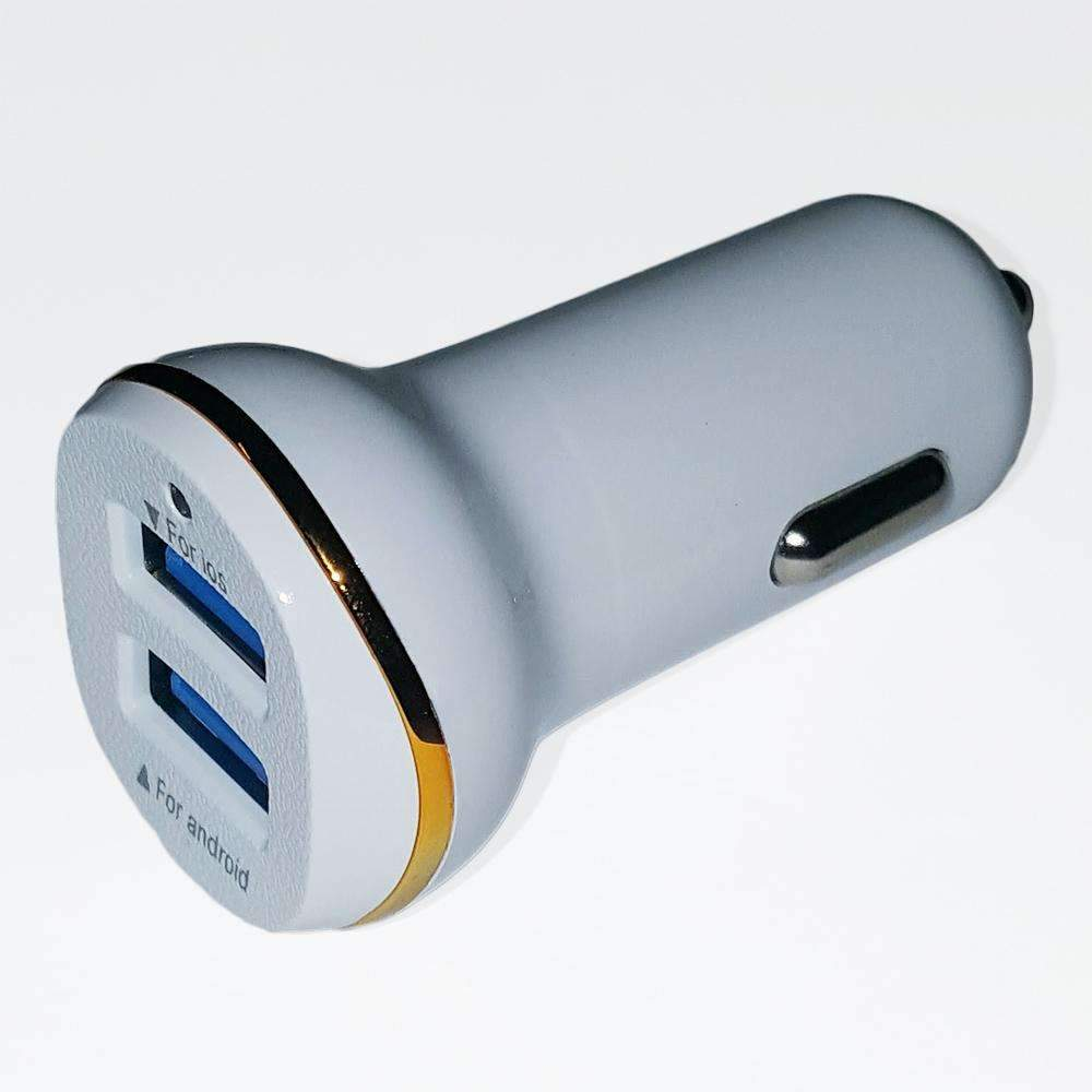 3.1 Amp Intelligent Fast Charging USB Car Adapter