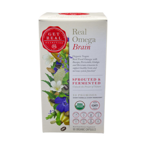 Get Real Omega Brain - 90ct