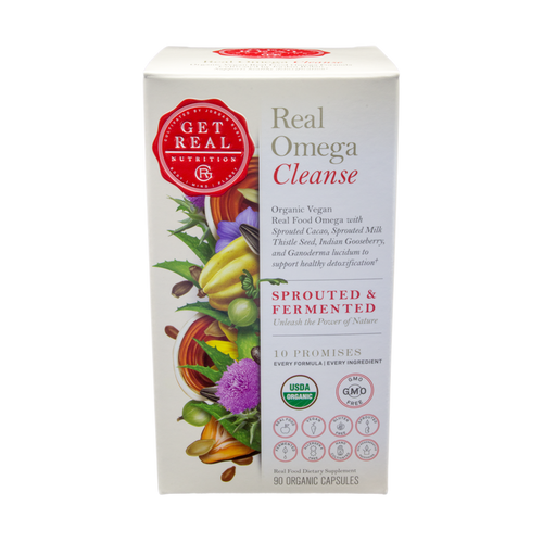 Get Real Omega - Cleanse 90ct