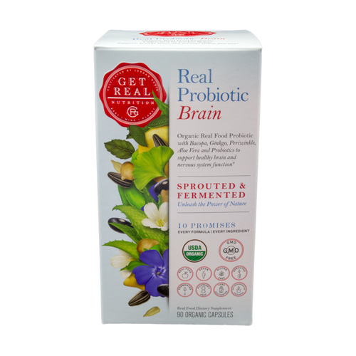 Real Probiotic - Brain 90ct