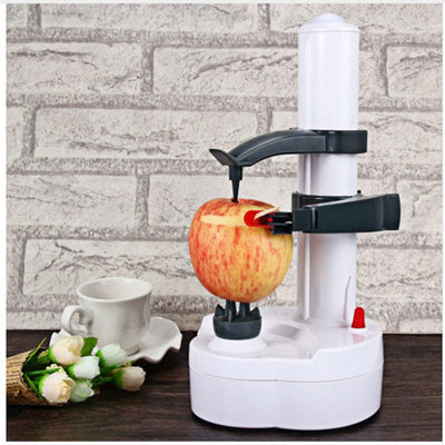 Electric Fruit/Vegetable Peeler - White - 2Shop Around The Corner