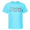 "Men's Humorous T-Shirt - ""Eat-Sleep-Game"" - 2Shop Around The Corner"