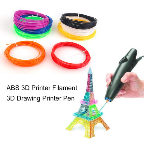 8 Color Universal ABS 3D Printer Filament Accessory For 3D Drawing Printer Pen. - 2Shop Around The Corner