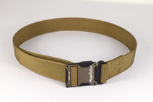 coyote brown magnetic tactical belt