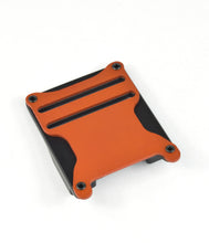 Orange magnetic tactical belt buckle