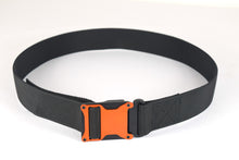 Orange and black magnetic tactical belt