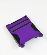 Purple magnetic tactical belt buckle
