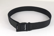 Black magnetic tactical belt