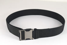 Grey and black magnetic tactical belt