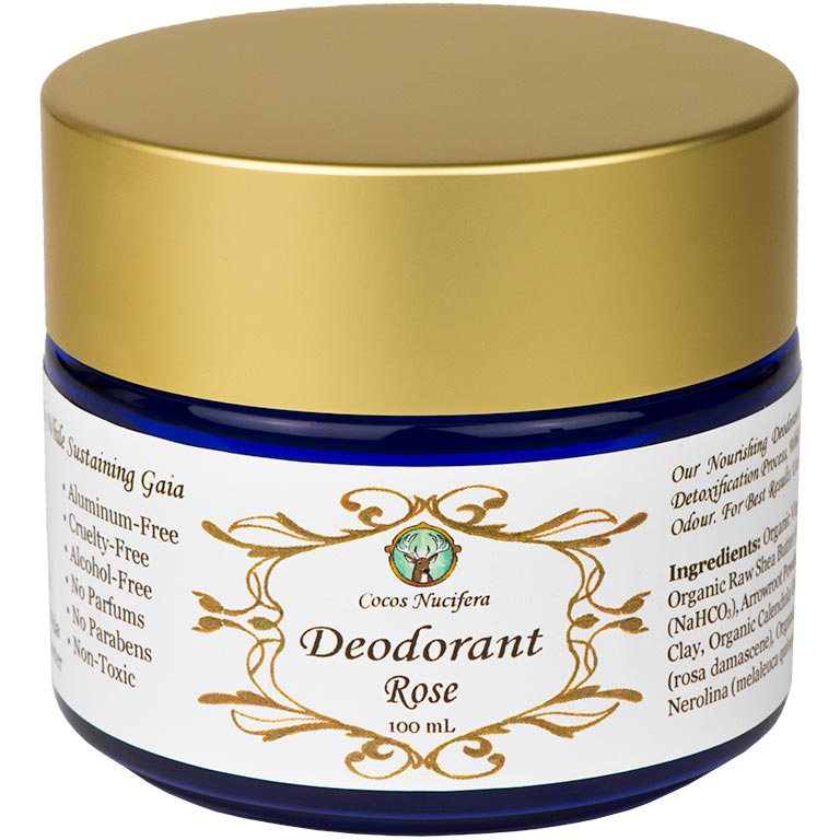 Rose Deodorant (Vegan)