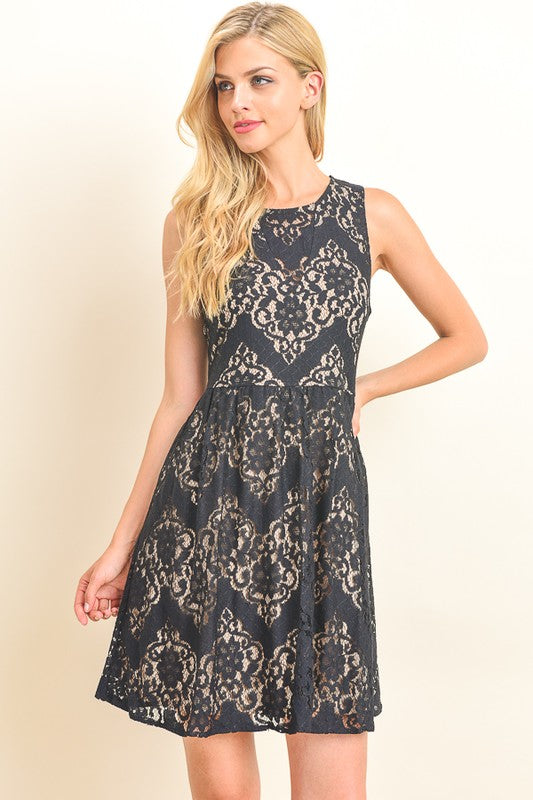All In Lace Dress