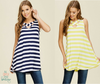 Annabelle Striped Swing Tank