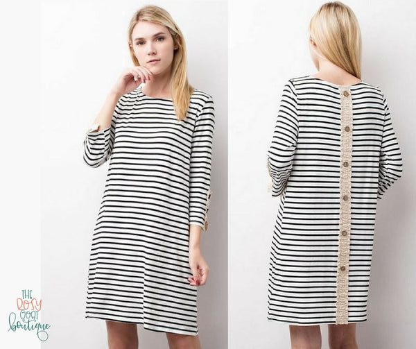 Emma Stripe Dress