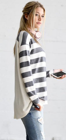 Jill Stripe Top