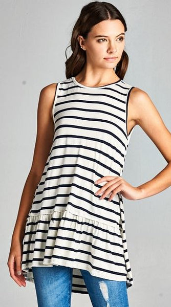 Lucy Stripe Tunic