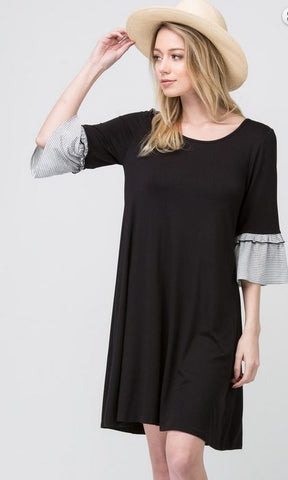 Michaela Dress - Black